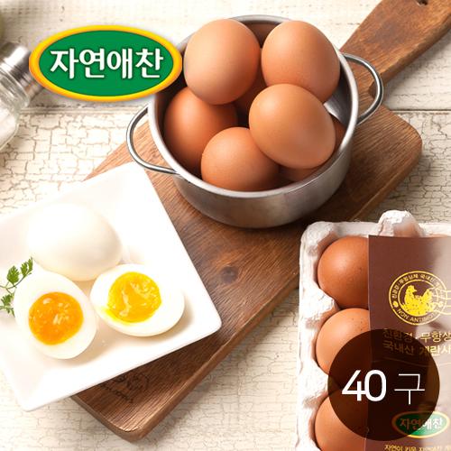 [굳닭] 굳닭이 낳은 촉촉한 반숙이 반숙란 40구