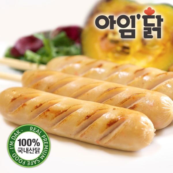 [무료배송] [아임닭] 깔끔야채맛 닭가슴살 수제소시지 (70g x 50팩)