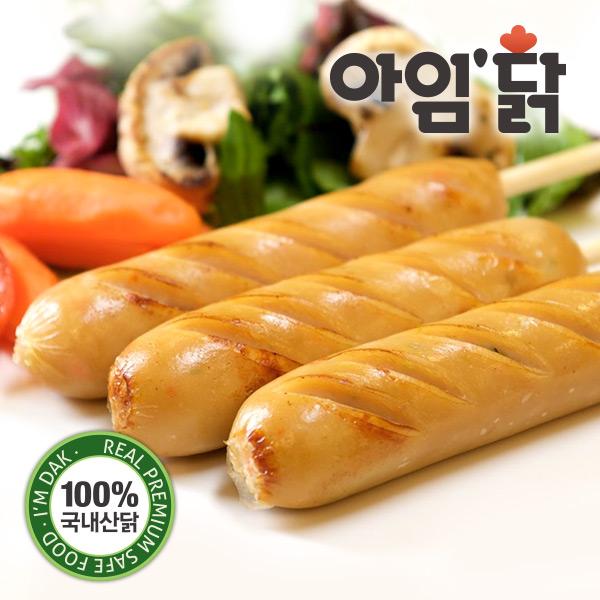 [무료배송] [아임닭] 깔끔매콤 청양고추맛 꼬치형 소시지 (70g x 50팩)