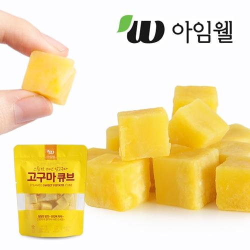 [무료배송] [아임닭] 아임웰 스팀으로 쪄낸 한입 밤고구마 2kg (100g x 20팩)