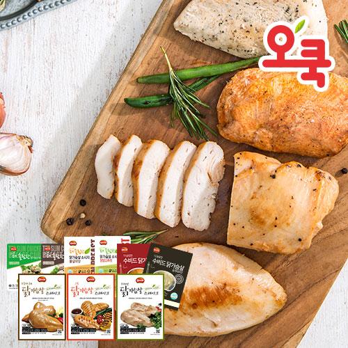[무료배송] [오쿡] 전제품 맛보기 세트 총 16팩
