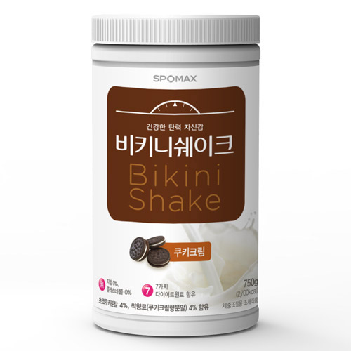 [스포맥스] 비키니쉐이크 쿠키크림 750g