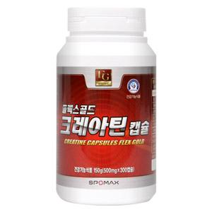 [무료배송] 크레아틴 캡슐 플렉스골드 300cap