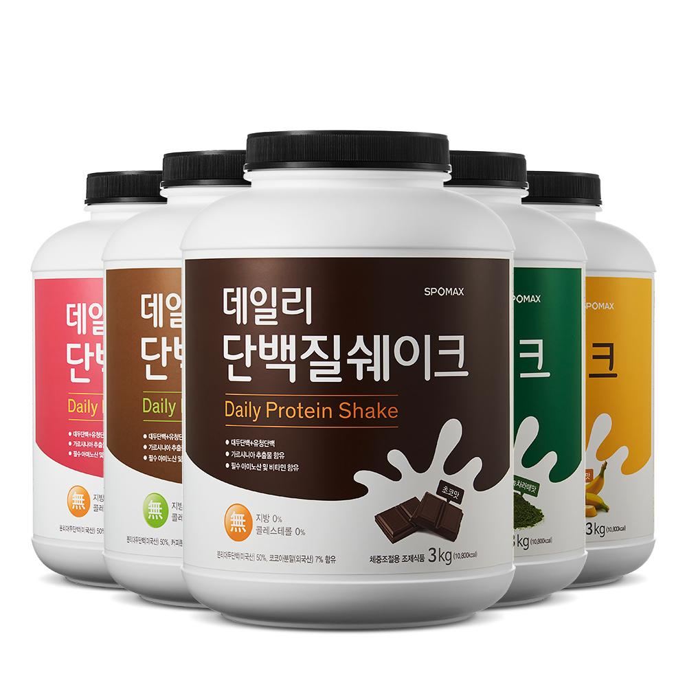 [스포맥스] 데일리 단백질쉐이크 3kg