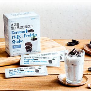 [무료배송] 덴마크 밀크프로틴 쉐이크 쿠키앤크림 (14포)