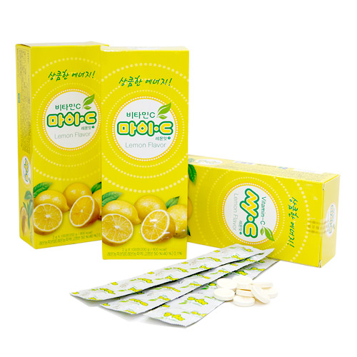 [무료배송] 마이C 레몬맛 100정