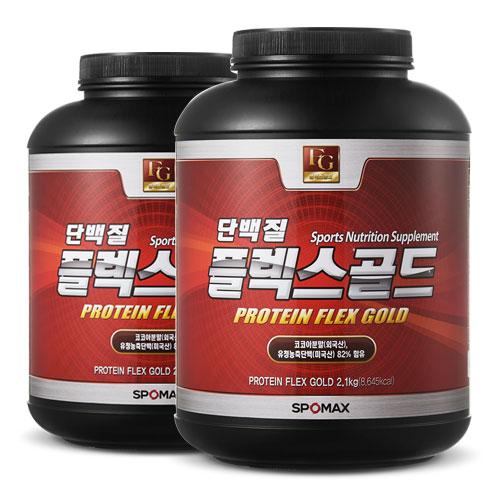 [스포맥스] 단백질 플렉스골드2.1kg x 2