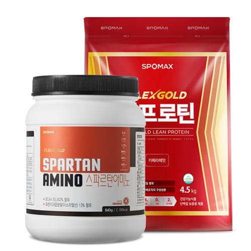 [스포맥스] 린프로틴4.5kg + 스파르탄 아미노 840g