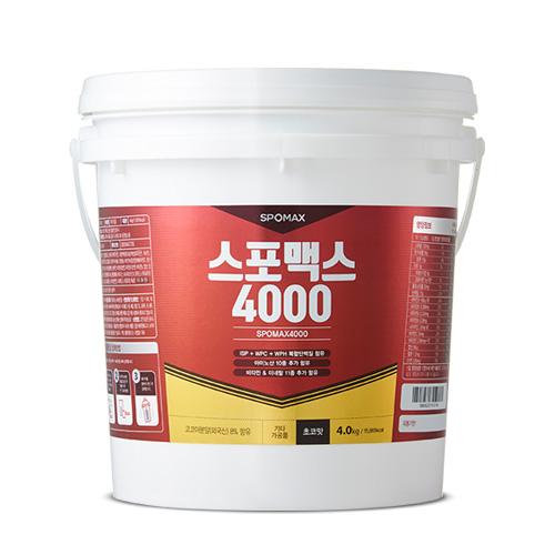 단백질보충제 스포맥스4000 6kg 초코맛